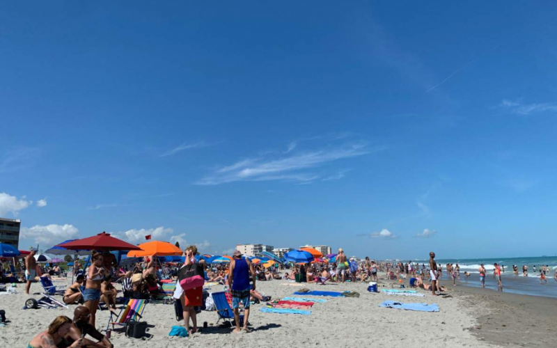 We do not want to have to close our beaches': Brevard Sheriff urges people to practice social distancing on shore Beaches, boat ramps to remain open