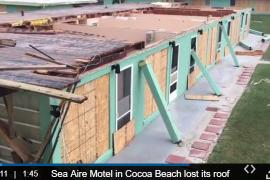 Longtime Cocoa Beach motel clobbered by Irma's gusts